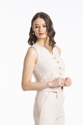 Pitti Kadın Bej Bluz 30103