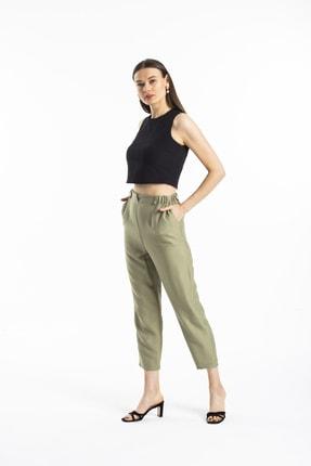 Pitti Kadın Haki Yeni Pantolon 40210