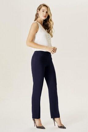 Naramaxx Kadın Bol Paça Lacivert Pantolon