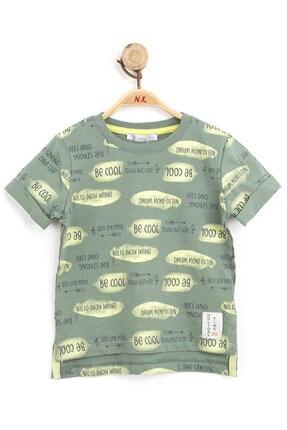 Nk Kids Unisex Çocuk Haki Tshirt