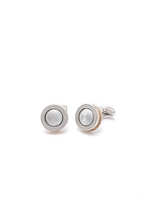 Erkek Beyaz Kol Düğmesi 20MC052040925
