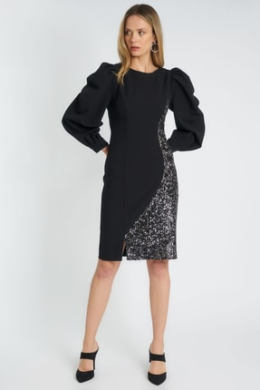 Home Store Kadın Sıyah Elbise 19630006097