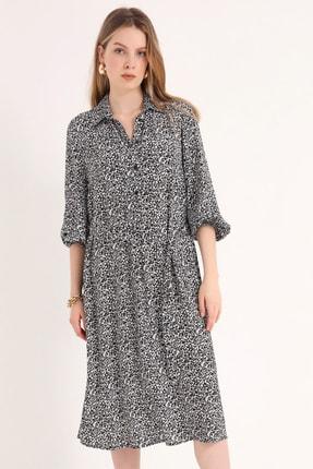 Home Store Kadın Sıyah Elbise 20230003080