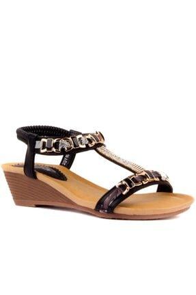 Guja Kadın Siyah Sandalet