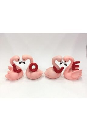 Flamingo 4'lü Set Love Biblo omr320a