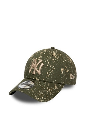 New Era New York Yankees Painted Green 9forty Snapback Şapka 12134845