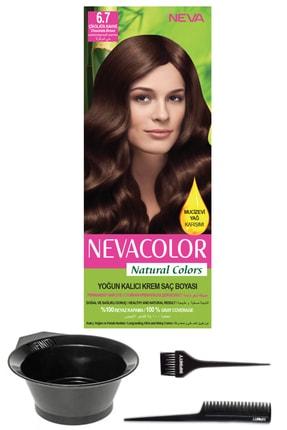 Neva Color Natural Colors 6.7 Çikolata Kahve