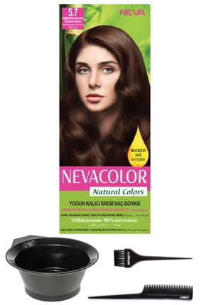 Neva Color Natural Colors 5.7 Kışkırtıcı Kahve
