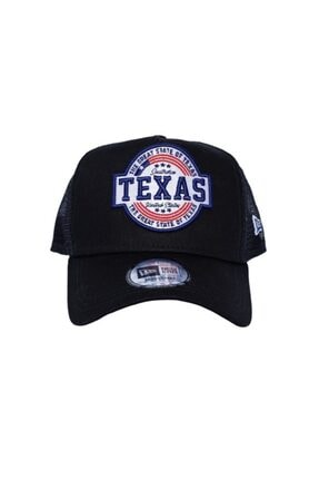 New Era Şapka - Usa Texas Patch Black A Frame Trucker