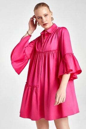 Nocturne Büzgü Detaylı Mini Elbise