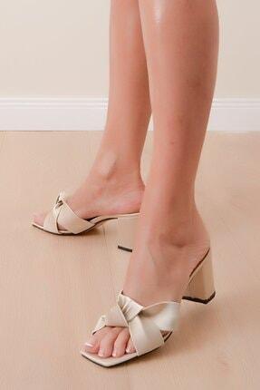 Shoes Time Kadın Bej Terlik 20y 825