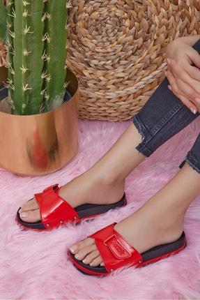 Shoes Time Kadın Kırmızı 2255 Terlik