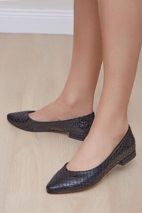 Shoes Time Kadın Siyah Babet 20y 419
