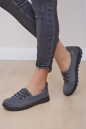 Shoes Time Kadın Gri Spor Ayakkabı 1100