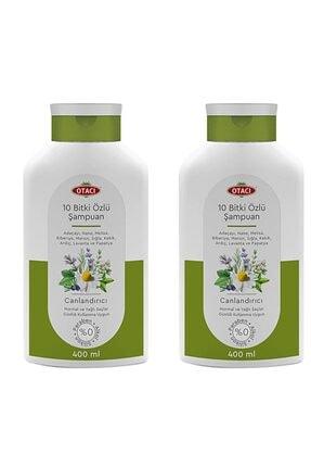 Otacı 10 Bitki Özlü Şampuan 2 X 400 Ml Yeni Ambalaj