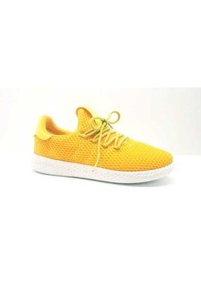 Dunlop Unisex Sarı Triko Garson Boy Spor Ayakkabı 114101g