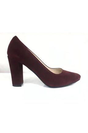 Punto 462003z Kalın Topuk Kadın Klasik Ayakkabı