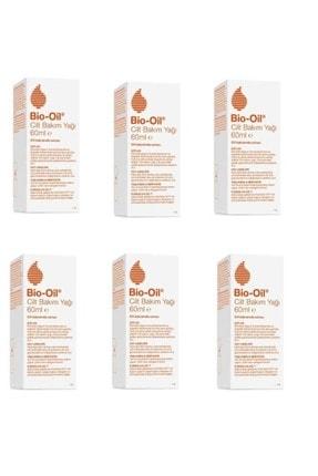Bio Oil E Vitamini Içeren Çatlak Bakım Yağı 60 ml 6 Adet