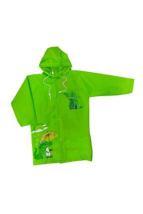Sanbe Unisex Çocuk Yeşil Yağmurluk 905 S 7001