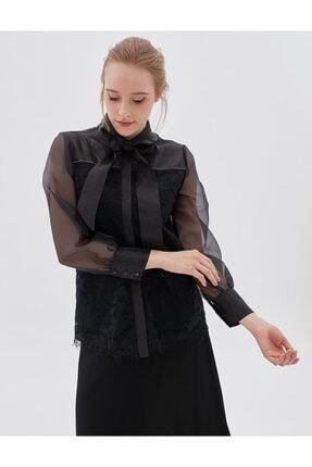Kayra Kadın Siyah Bluz