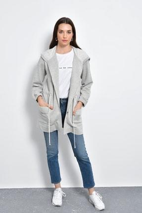 Hanna's Kapüşonlu Ve Cepli Sweatshirt