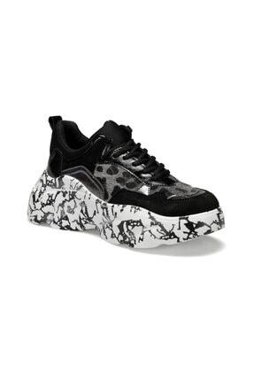 Butigo Malıbu Siyah Kadın Sneaker Ayakkabı