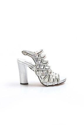 Fast Step Gümüş Kadın Abiye Ayakkabı 629za314-0221