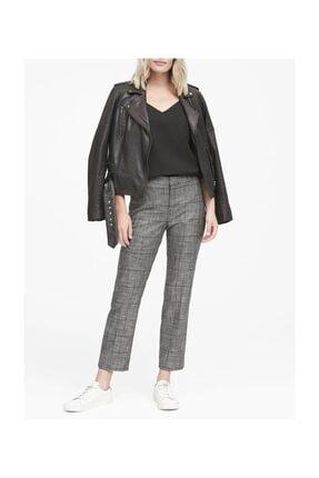 Banana Republic Avery Straight-fit Ekose Pantolon