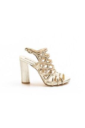 Fast Step Altın Kadın Abiye Ayakkabı 629za314-0221
