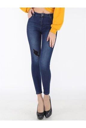 Twister Jeans Kadın Slim Fit Çok Yüksek Bel Pantolon Eva 9204-01 01