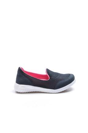 Fast Step Lacivert Fuşya Kadın Yürüyüş Ayakkabı 925za1017