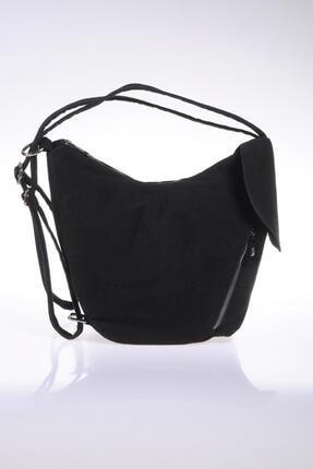 Sergio Giorgianni Luxury Sg-monkey Siyah Kadın Sırt Çantası