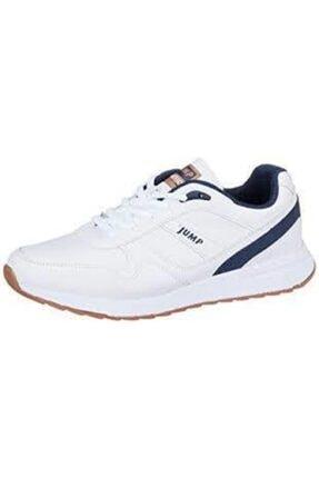 Jump Beyaz Kadın Spor Ayakkabı 19613