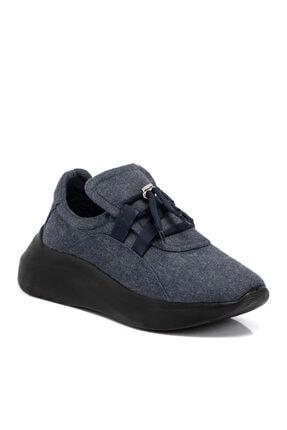 Tergan Lacivert Tekstil Kadın Ayakkabı 65232ı49