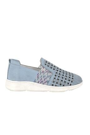 Hobby Divadonna Bebe Mavi Ortopedik Kadın Günlük Ayakkabı Dd2219