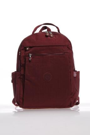 Smart Bags Smb1247-0021 Bordo Kadın Sırt Çantası