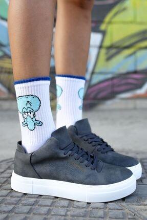 Chekich Ch004 Bt Kadın Ayakkabı Antrasit