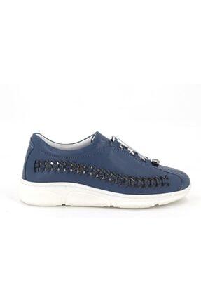 Hobby Divadonna Mavi Ortopedik Kadın Günlük Ayakkabı Dd2229