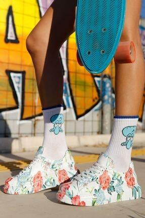 Chekich Ch255w Bt Kadın Ayakkabı Çiçekli