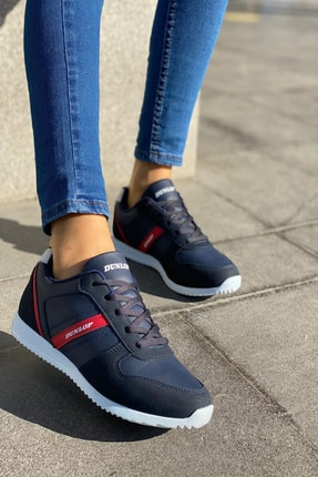 Dunlop Lacivert Kadın Ince Taban Sneaker