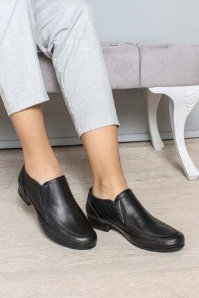 Fast Step Hakiki Deri Siyah Kadın Casual Ayakkabı 827za9015