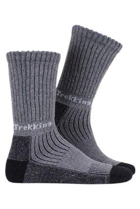 Thermoform Kadın Trekking Termal Çorap Antrasit Gri (Hzts33-r005)