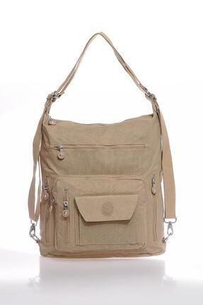 Smart Bags Smbky1205-0015 Vizon Kadın Omuz Ve Sırt Çantası