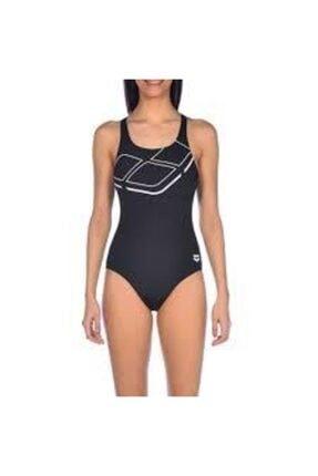 Arena Kadın Mayo Essentials Swim Pro Siyah 0000002253-501