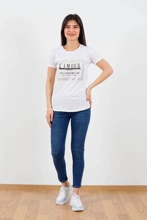 Fashion Friends Trisiss Fashıon Frıends Kadın T-shir Beyaz