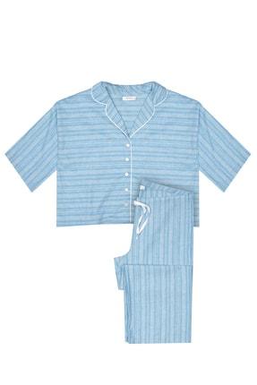 GTNight Kısa Kollu Pijama Takım Osmanlı Desenli