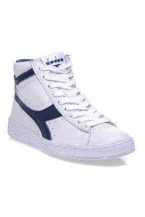 Diadora Game L High Waxed Beyaz Unisex Günlük Ayakkabı - 159657-c5262