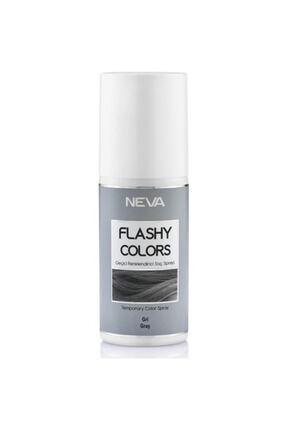Neva Flashy Colors Sprey Gri 75 ml