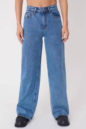 Addax Kadın Kar Ykm Cep Detaylı Bol Paça Pantolon Pn1072 - Pni ADX-0000023093