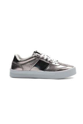 Letoon Gümüş Kadın Günlük  Casual Ayakkabı